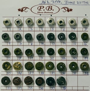Best Quality Jeans Buttons