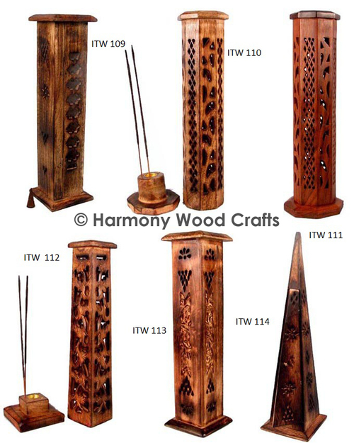 Designer Wooden Incense Tower