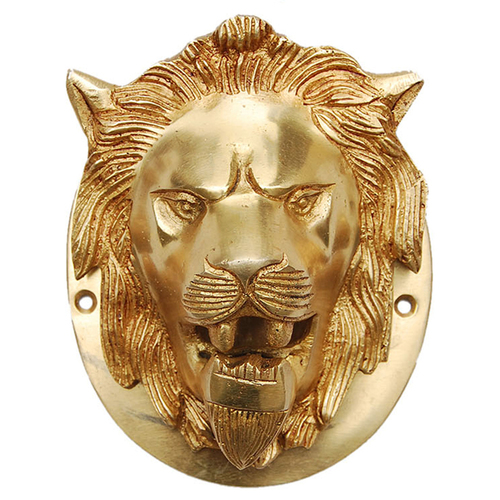 Lion Door Knocker Of Brass By Aakrati