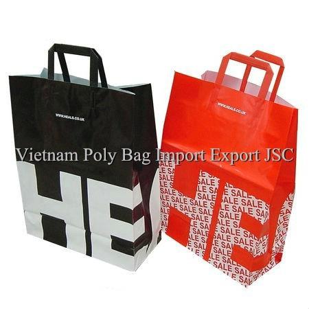Trifold Handle Bag