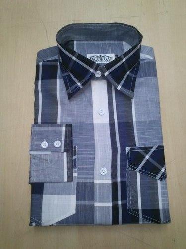 Elegant Check Shirt in   Madhav Nagar