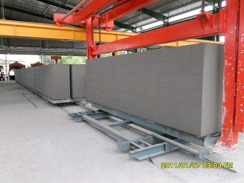 Aac Fly Ash Block Line