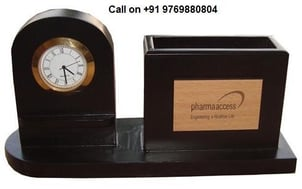 Table Top Clock with Card Holder