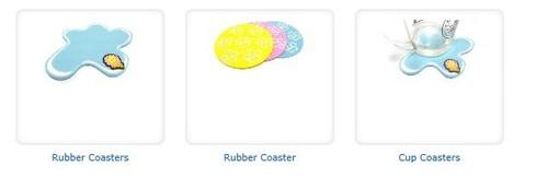 Rubber Coasters