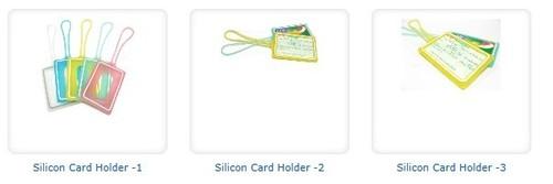 Silicon Card Holder
