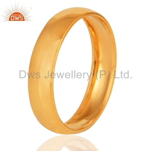 18k Gold Engagement Band Ring