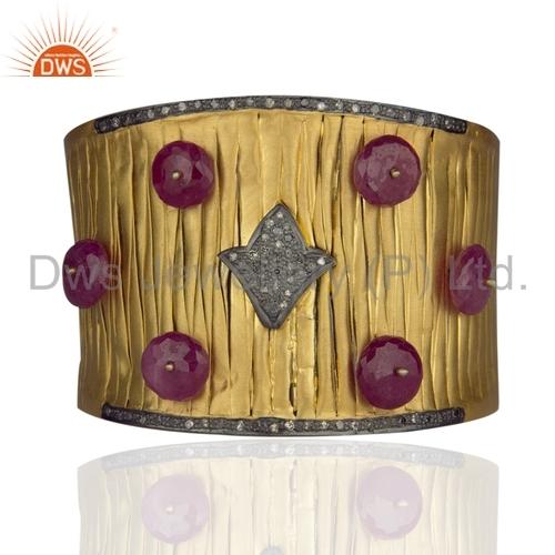 24k Gold Plated Weave Bracelets