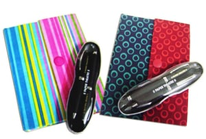 Gift Set With One Note Book And Pen