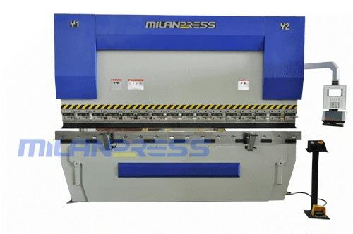 MILAN CNC Hydraulic Press Brake Plate Bending Machine 100T-4000mm