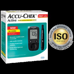 Blood Glucose Monitoring System (Accu-chek Active) in  Kalbadevi