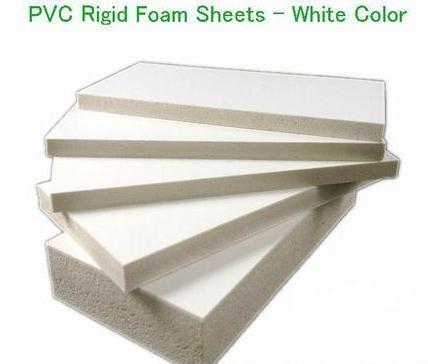 PVC Rigid Foam Sheets (White Color)