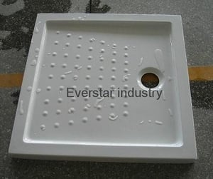 Square Acrylic Shower Tray