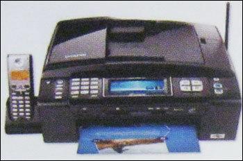 Coloured Fax Machine