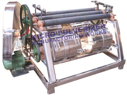 Rubber Roller Type Jar Mill