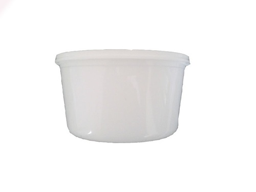 Plastic Light Weight Container (250 Ml)