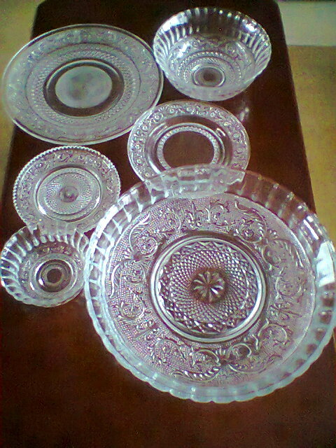 Crystal Glass Dinner Set at Best Price in Firozabad, Uttar ...