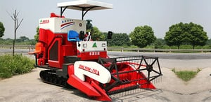 Wheat And Rice Combine Harvester (4LZ-2.2)