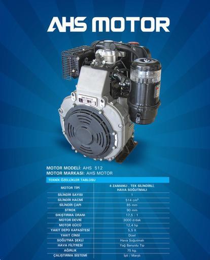 12 HP Motor