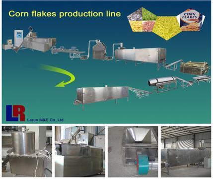 Corn Flakes Extrusion Machine