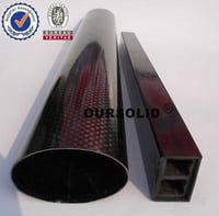 Epoxy Resin With Carbon Fiber Pipe