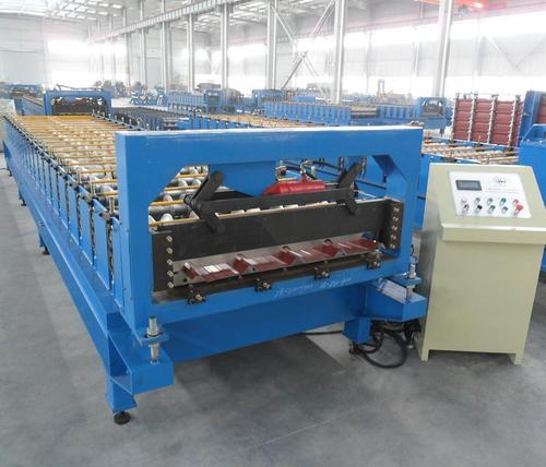 Roll Forming Machine For Profiled Steel Sheet