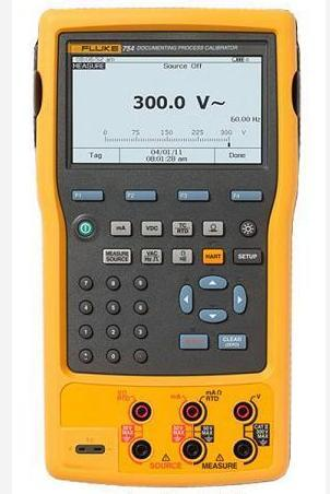Fluke 754 Documenting Process Calibrator And HART Instrumentation