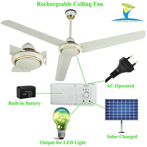 48 ac dc rechargeable ceiling fan solar power ceiling fan with bldc send inquiry 48 ac dc rechargeable ceiling fan aloadofball Choice Image
