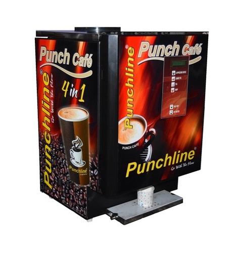 Punchline 4 lane Tea Coffee Making Machine
