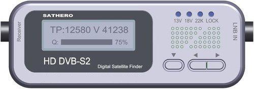 Sathero SH-100HD Digital DVB-S2 Satellite Meter