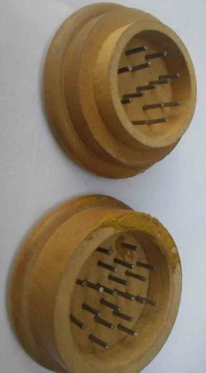Wooden Dugout And Herb Grinder