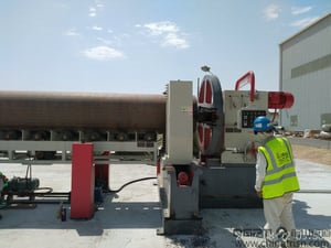 High Speed Pipe End Beveling Machine (Left & Right SynchronousCentering Clamping)