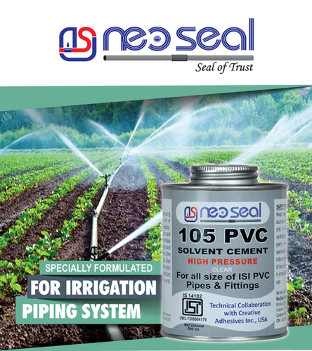 IRRIGATION PVC SOLVENT CEMENTS - Neoseal Adhesive Pvt  Ltd , Plot No