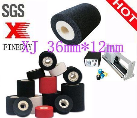 Black 36mm*12mm Hot Ink Roller