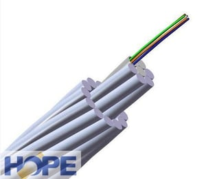 OPGW Composite Overhead Ground Wire Fiber Optic Cable