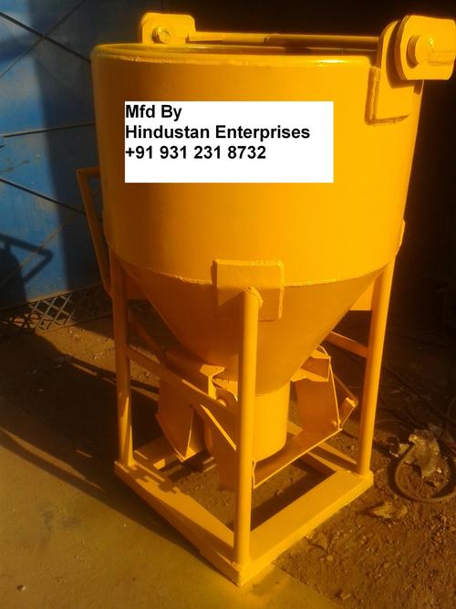 Cone type Concrete Bucket 0.5 Cone Type