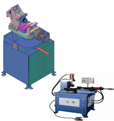 Pipe And Tube Notching Machine