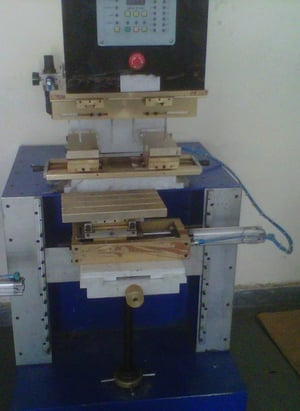 Double Colour Closed Cup Pad Printing Machine
