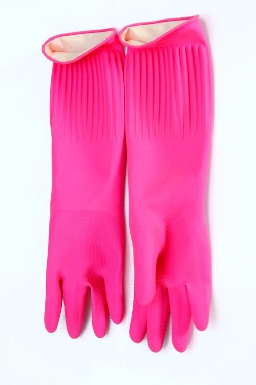 Wrinkle Rubber Gloves (XL)