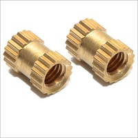 Solid Brass Inserts For Electrical Products