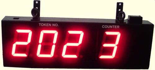 Speaking Token Queuing Display System