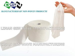 Disposable Viscose And Polyester Spunlace Non-Woven Wipes