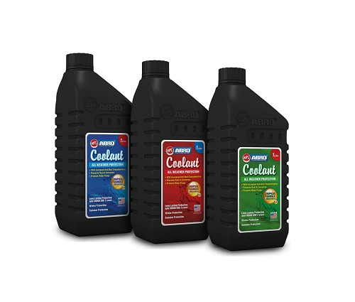 Abro Tropical Formula Engine Coolant (Dark Green, Super Red And Blue)