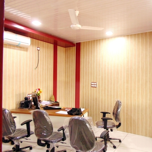 Decorative PVC Office Wall Panel in Gandhinagar, Gujarat - KAKA PVC ...