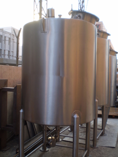 DIMPLE JACKETED TANKS