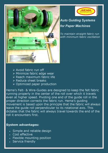 Paper Machine Auto Guide