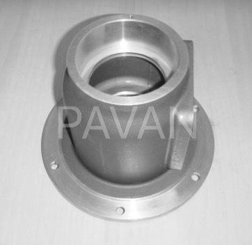 Industrial Aluminum Mounting Flange