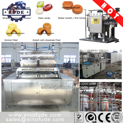 Hard Candy Depositing Line(Plc Control)