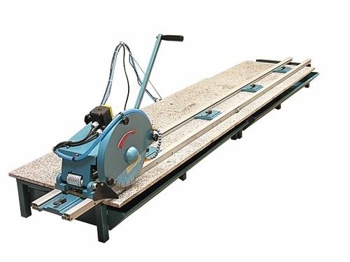 Marble Granite Stone Slab Rail Saw Cutting Machine