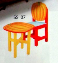 Play School Kids Table With Chair (Ss 07)