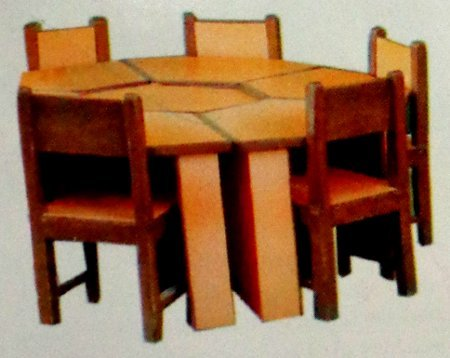 Play School Kids Table With Chair (Ss 39)